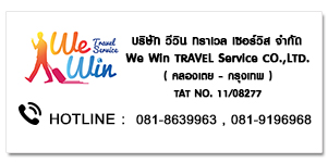 WE WIN TRAVEL SERVICE