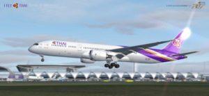 การบินไทยต้อนรับเครื่องบินBoeing 787-9 dreamliner ลำแรก